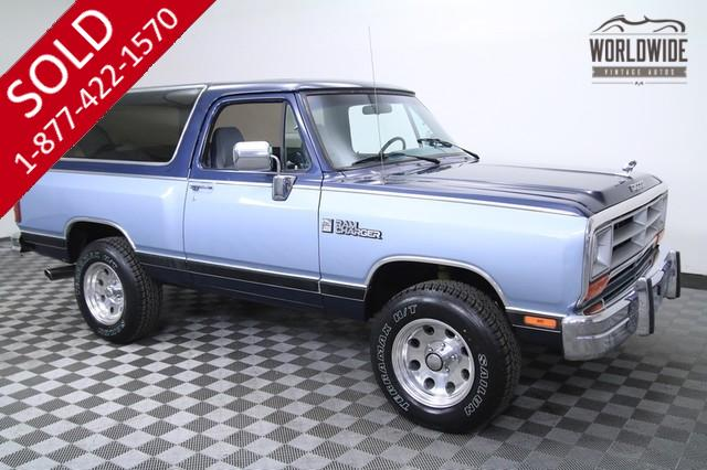 1989 Dodge Ramcharger 4x4 for Sale