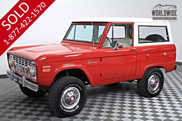 1971 Ford Bronco First Gen for Sale