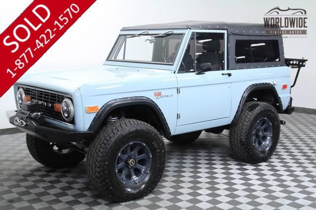 1975 Ford Bronco Fuel Injected V8 for Sale