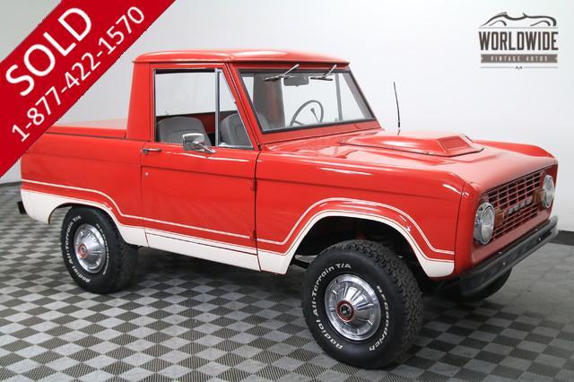 1975 Ford Bronco Half Cab for Sale