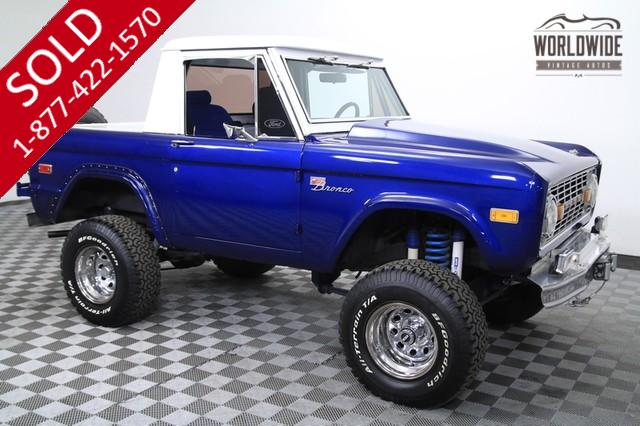 1971 Ford Bronco Half Cab for Sale