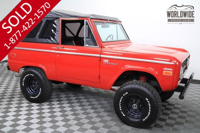 1970 Ford Bronco Sport for Sale