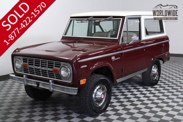 1969 Ford Bronco Time Capsule for Sale