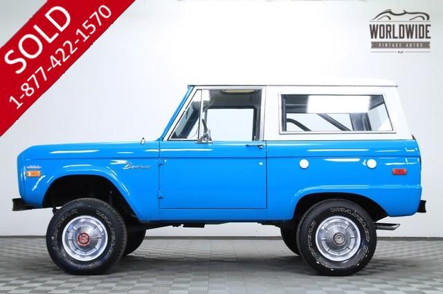 1971 Ford Bronco Uncut for Sale
