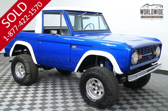 1976 Ford Bronco Half Cab for Sale
