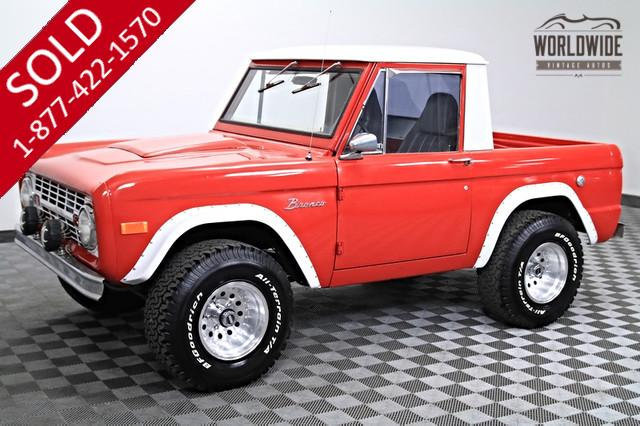 1968 Ford Bronco Half Cab for Sale