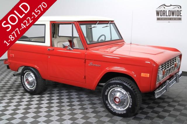1976 Ford Bronco 4x4 for Sale