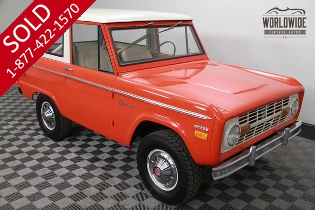 1971 Ford Bronco 4x4 for Sale