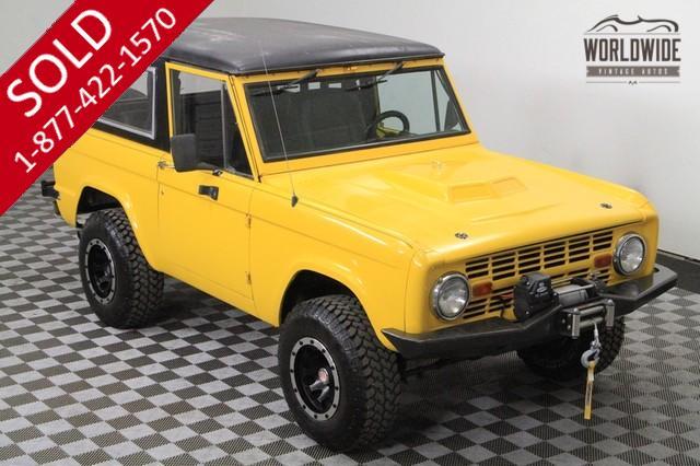 1968 Ford Bronco Custom for Sale