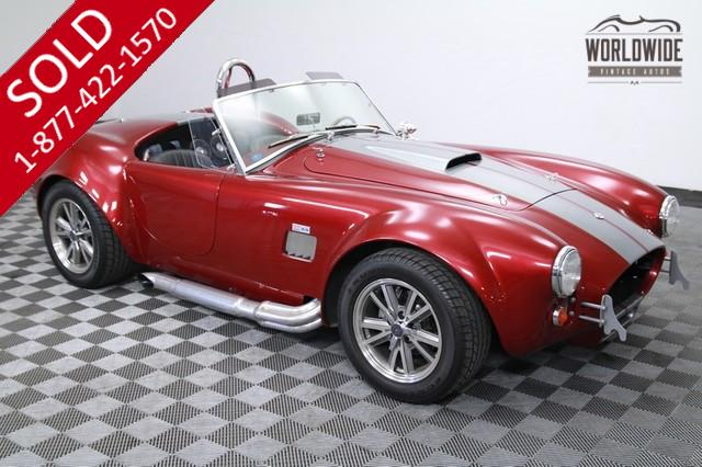 1965 Ford Cobra Factory Five 3800 miles for Sale
