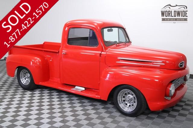 1951 Ford F1 Hot Rod for Sale