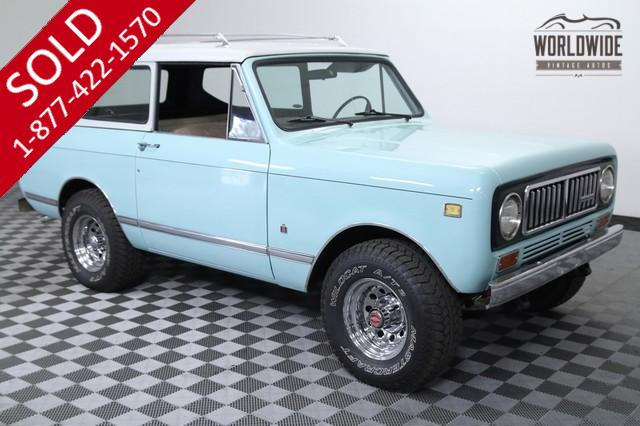 1975 International Scout V8 for Sale