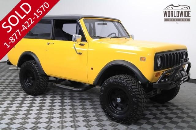 1977 International Scout for Sale