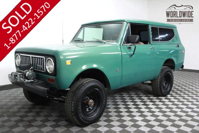 1974 International Scout for Sale