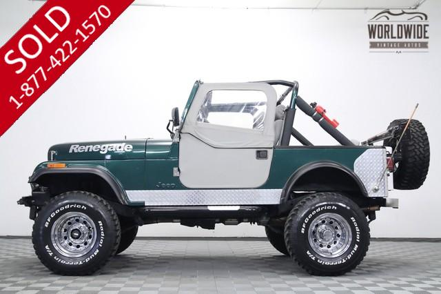 1983 Jeep CJ7 Renegade Lifted 4x4 for Sale