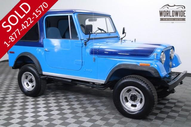1976 Jeep CJ7 Renegade Levi Edition Rare for Sale