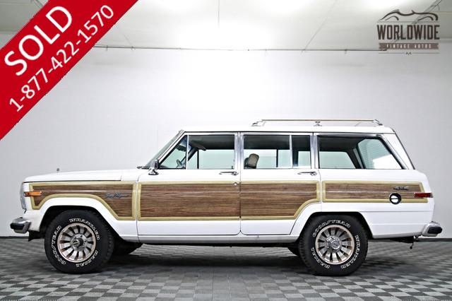 1987 Jeep Grand Wagoneer Original 4x4 for Sale