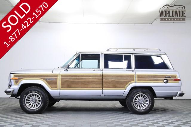 1989 Jeep Grand Wagoneer V8 for Sale