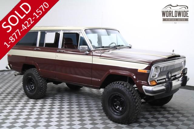 1988 Jeep Grand Wagoneer V8 for Sale
