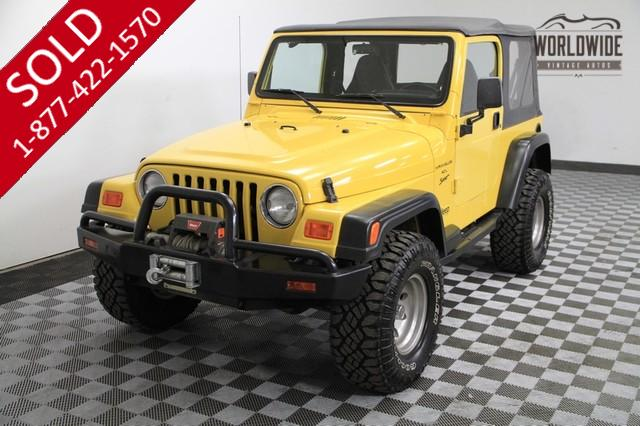 2000 Jeep Wrangler for Sale