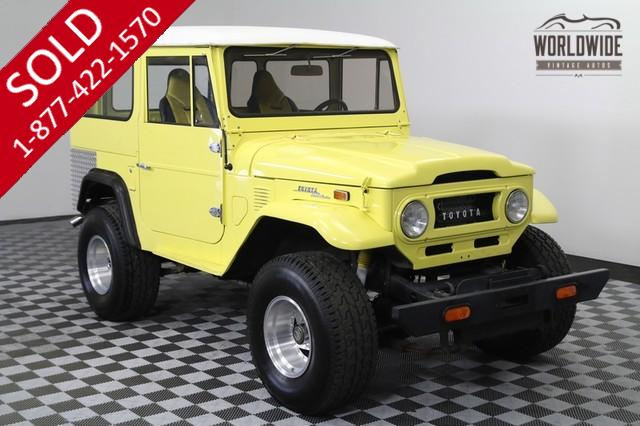 1973 Land Cruiser FJ40 4x4 for Sale