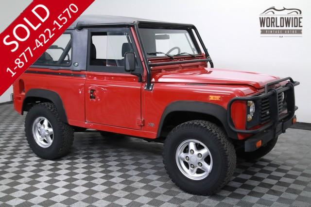 1994 Land Rover Defender 90 Full Convertible for Sale