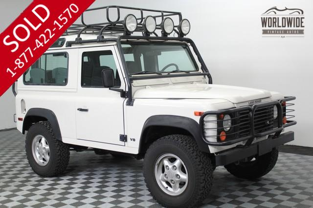 1997 Land Rover Defender Low Miles for Sale