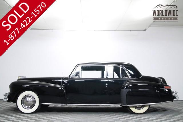 1948 Lincoln Continental V12 for Sale