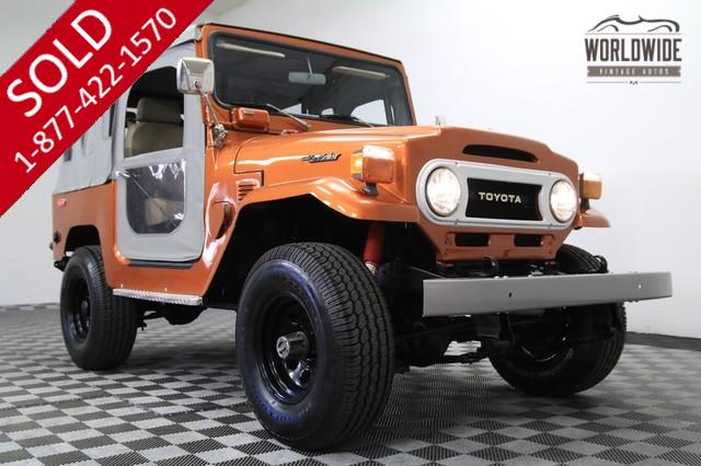1976 Toyota FJ40 Land Cruiser for Sale