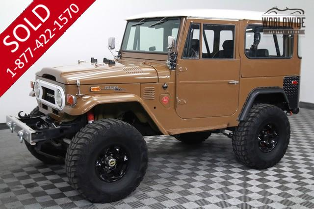1973 Toyota Land Cruiser FJ40 Fuel Injected for Sale