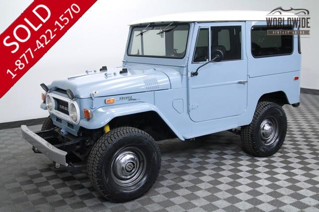 1971 Toyota Land Cruiser FJ40 for Sale