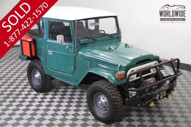 1978 Toyota Landcruiser FJ40 for Sale