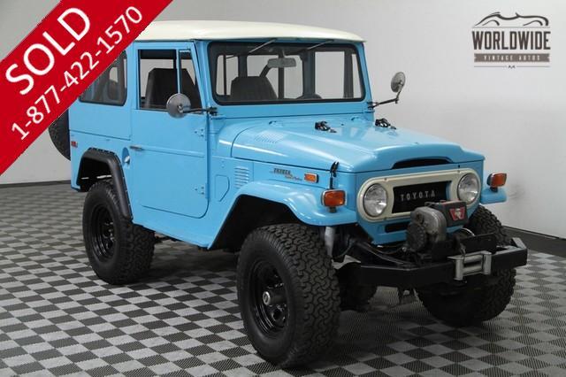 1972 Toyota Landcruiser for Sale