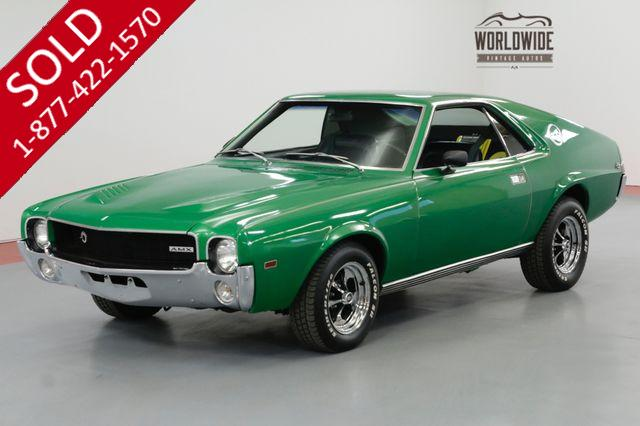 1968 AMC AMX RARE MUSCLE CAR CUSTOM 343 V8