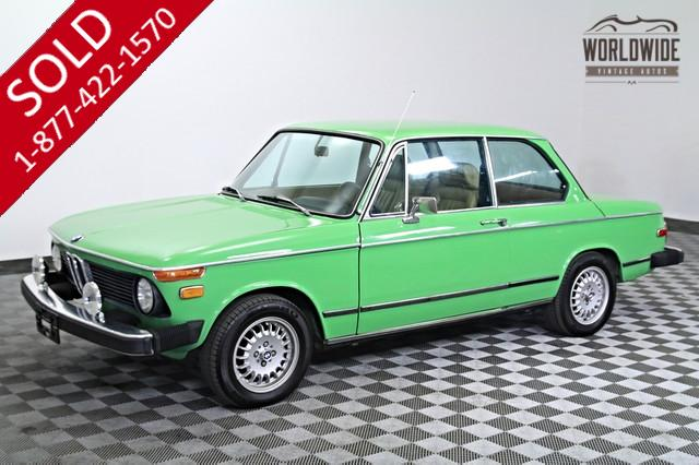 1976 BMW 2002 Coupe for Sale