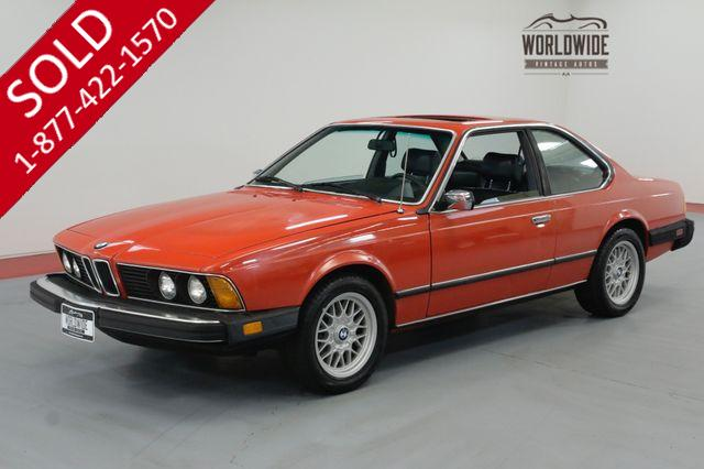 1982 BMW 6 Series 633CSi EXTENSIVE HISTORY AND RECORDS CLEAN LOW MILES