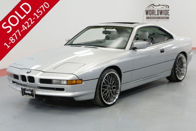 1991 BMW 8 SERIES 850i 5.0 LTR V12 4 SPEED AUTO