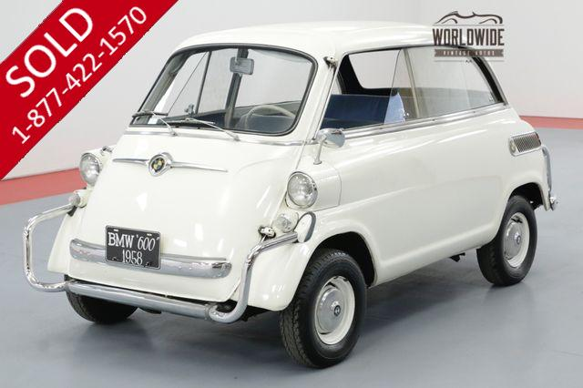 1958 BMW ISETTA OLDER RESTORATION ICONIC MICRO CAR MUST SEE