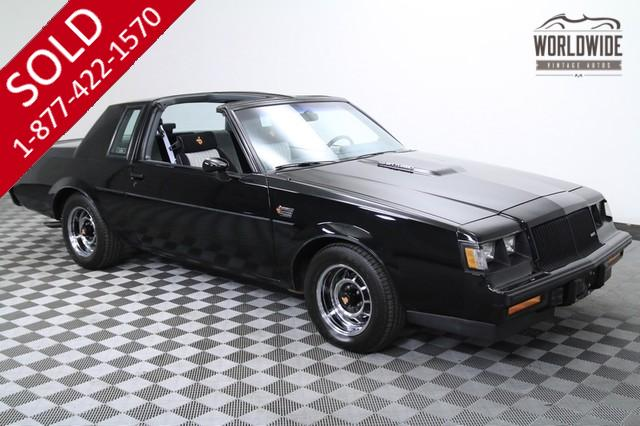 1987 Buick Grand National Original for Sale