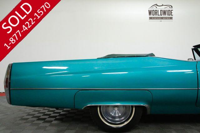 1968 CADILLAC COUPE DEVILLE CONVERTIBLE RUST FREE AC CADDY