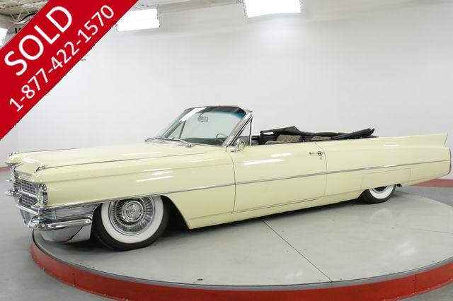 1963 CADILLAC SERIES 62 CONVERTIBLE $100K+ RESTORE SHAQUILLE O'NEIL
