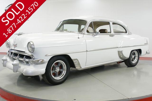 1954 CHEVROLET 210  350 V8 AUTO PB LEATHER CUSTOM