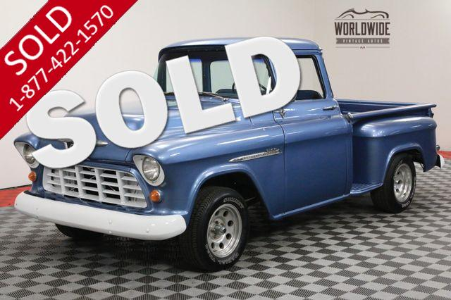 1955 CHEVROLET 3100 BIG WINDOW STEP SIDE EXCELLENT DRIVER