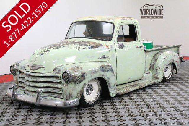 1955 CHEVROLET 3100 RAT ROD PS PB DISC V8 SHOW WINNER