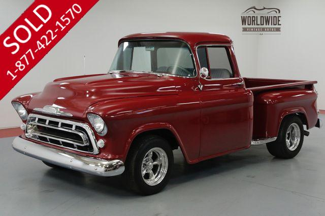 1957 CHEVROLET 3100 RESTORED. V8! AUTO. BIG WINDOW! STREET ROD