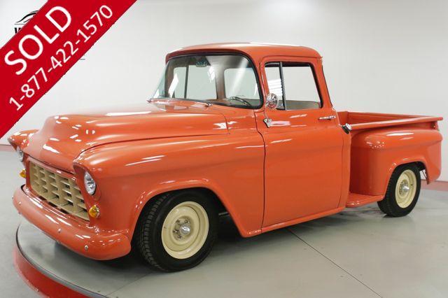 1956 CHEVROLET  APACHE  RESTORED STREET ROD BIG WINDOW V8 AUTO