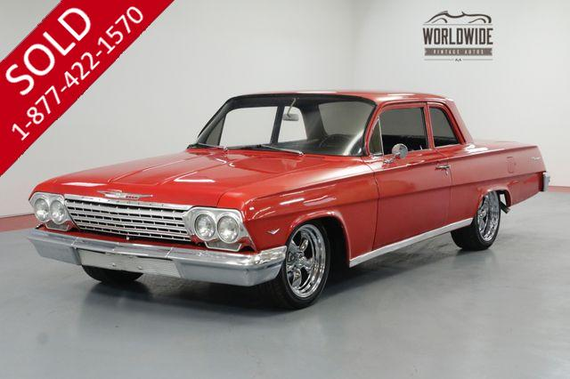 1962 CHEVROLET BISCAYNE RESTORED. PRO TOURING V8 AUTO PS PB LOWERED