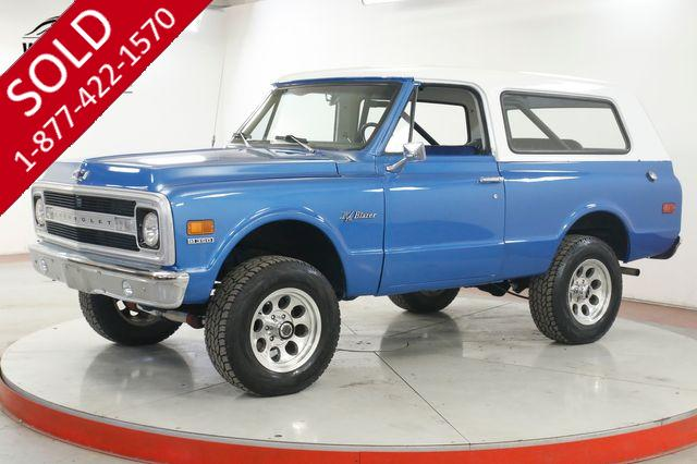 1970 CHEVROLET BLAZER 4X4 350 V8 AUTOMATIC PS PB REMOVABLE TOP
