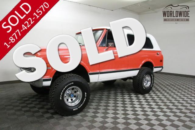 1972 Chevrolet Blazer for Sale
