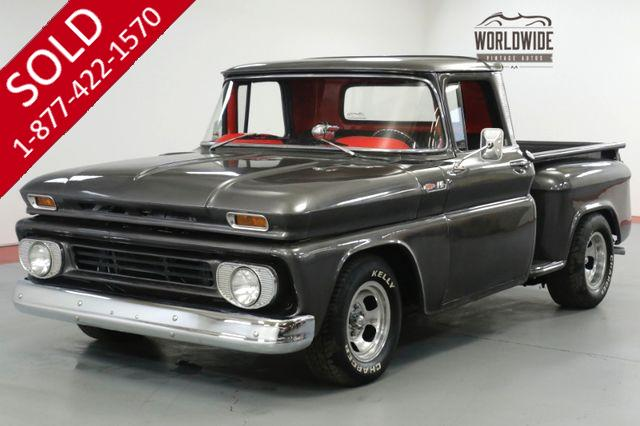 1962 CHEVROLET C10  TRUCK. RESTORED. SUPERCHARGED! PB. AUTO.